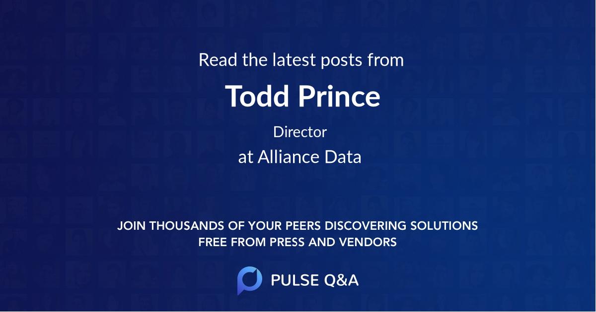 Todd Prince