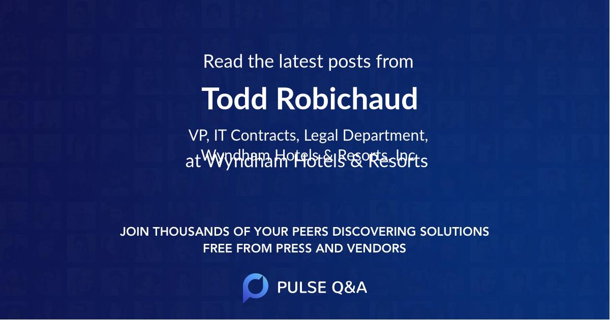 Todd Robichaud