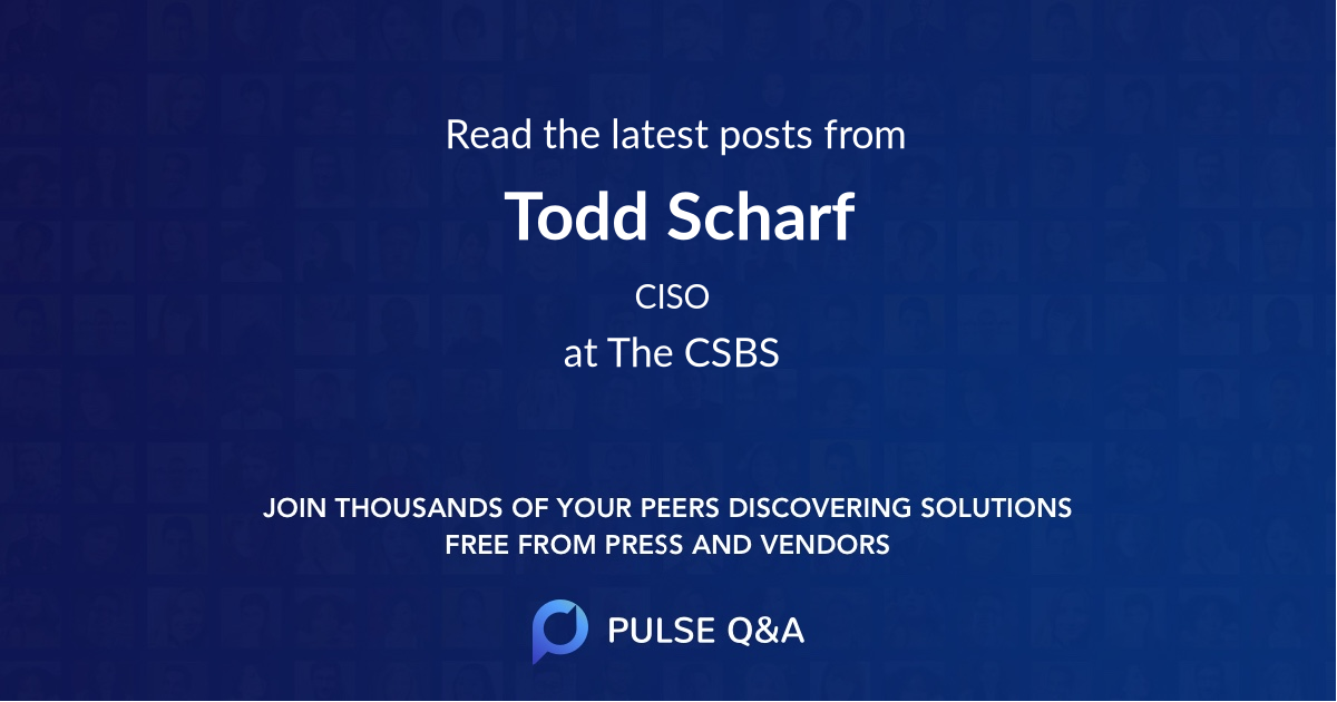 Todd Scharf