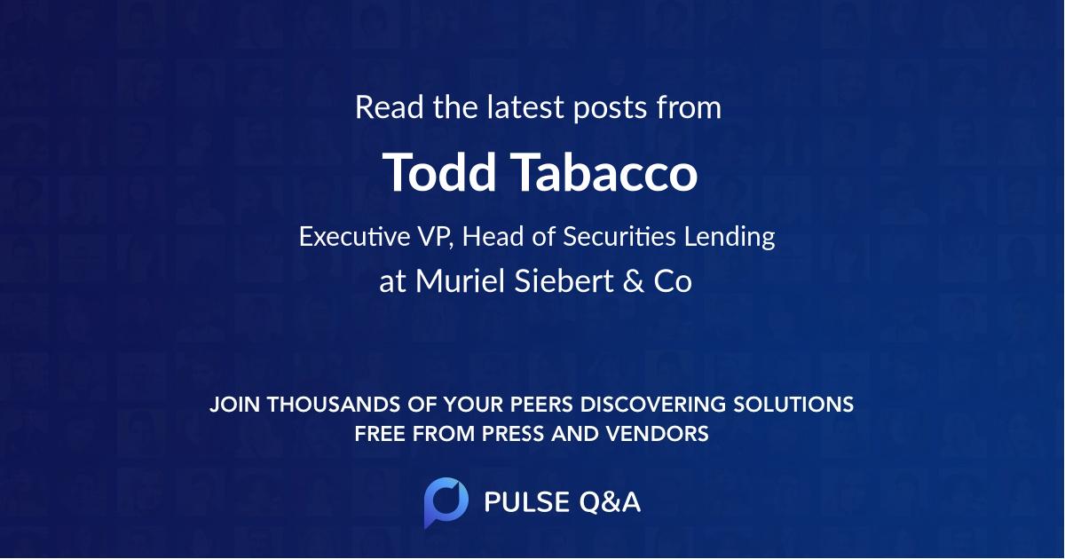 Todd Tabacco