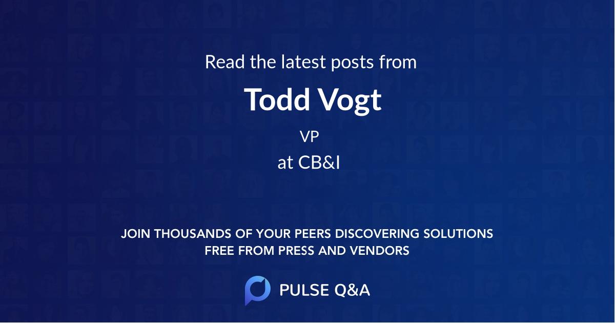 Todd Vogt