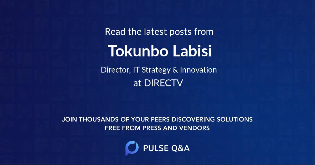 Tokunbo Labisi