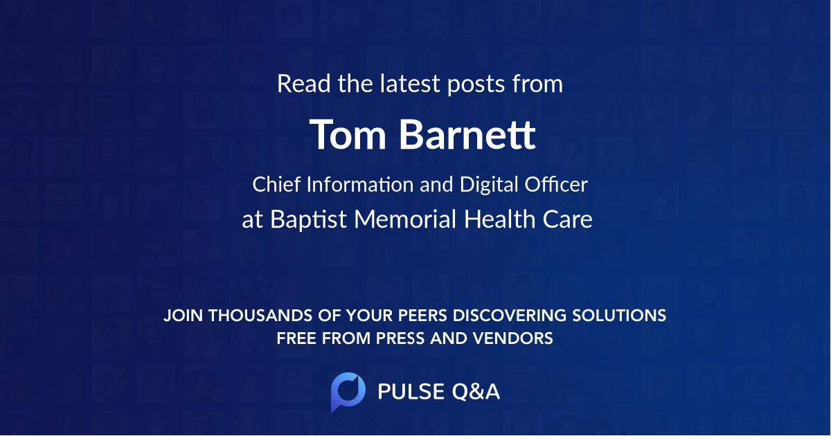 Tom Barnett