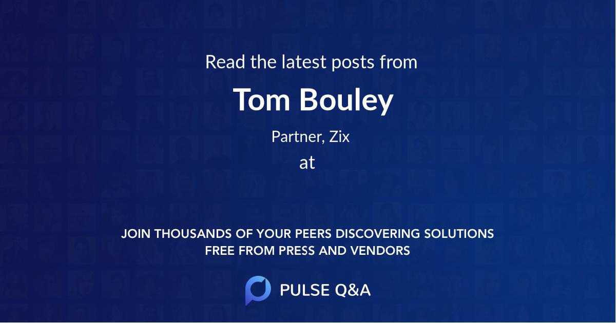 Tom Bouley
