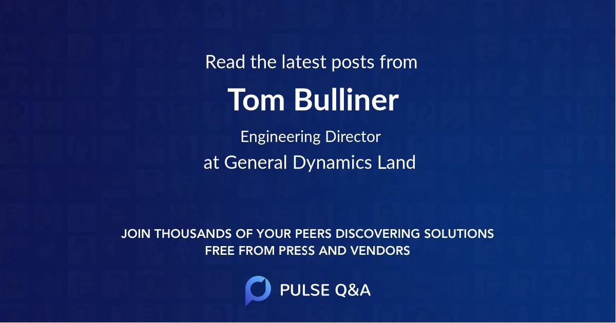 Tom Bulliner
