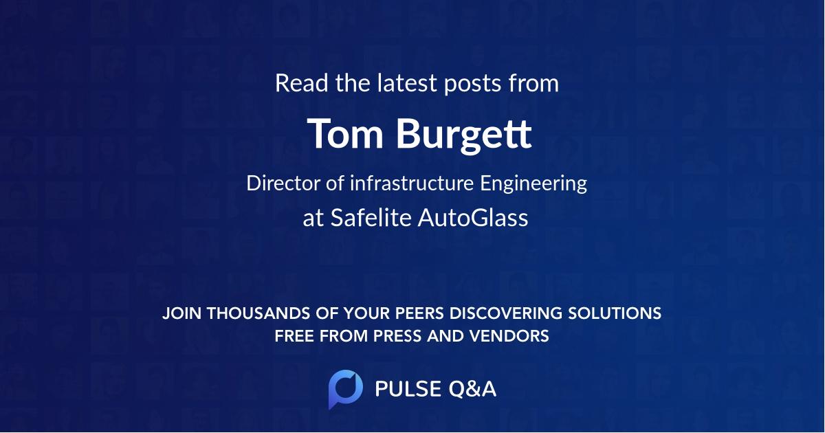 Tom Burgett