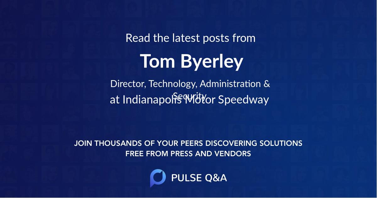 Tom Byerley