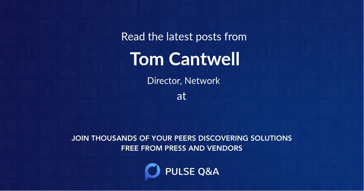 Tom Cantwell