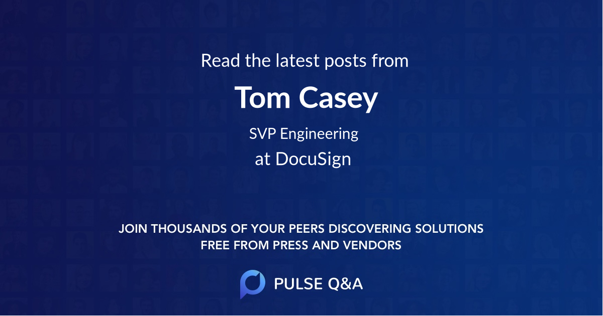Tom Casey