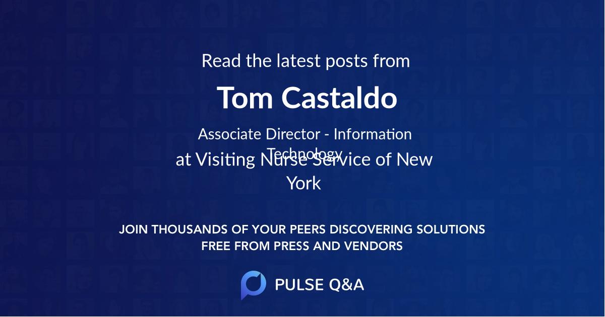 Tom Castaldo