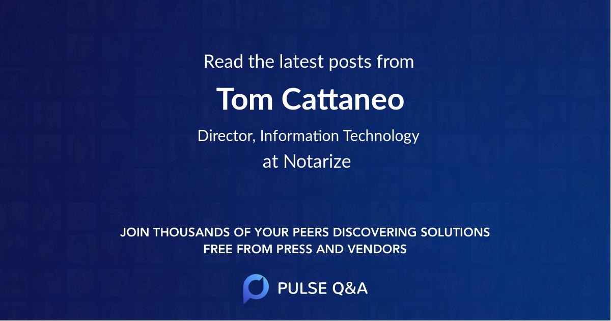 Tom Cattaneo