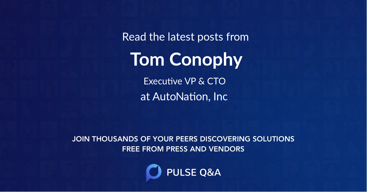 Tom Conophy
