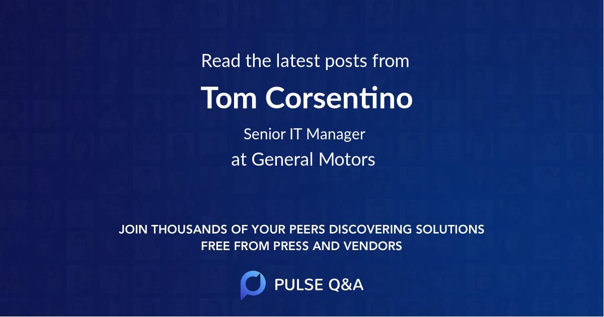 Tom Corsentino