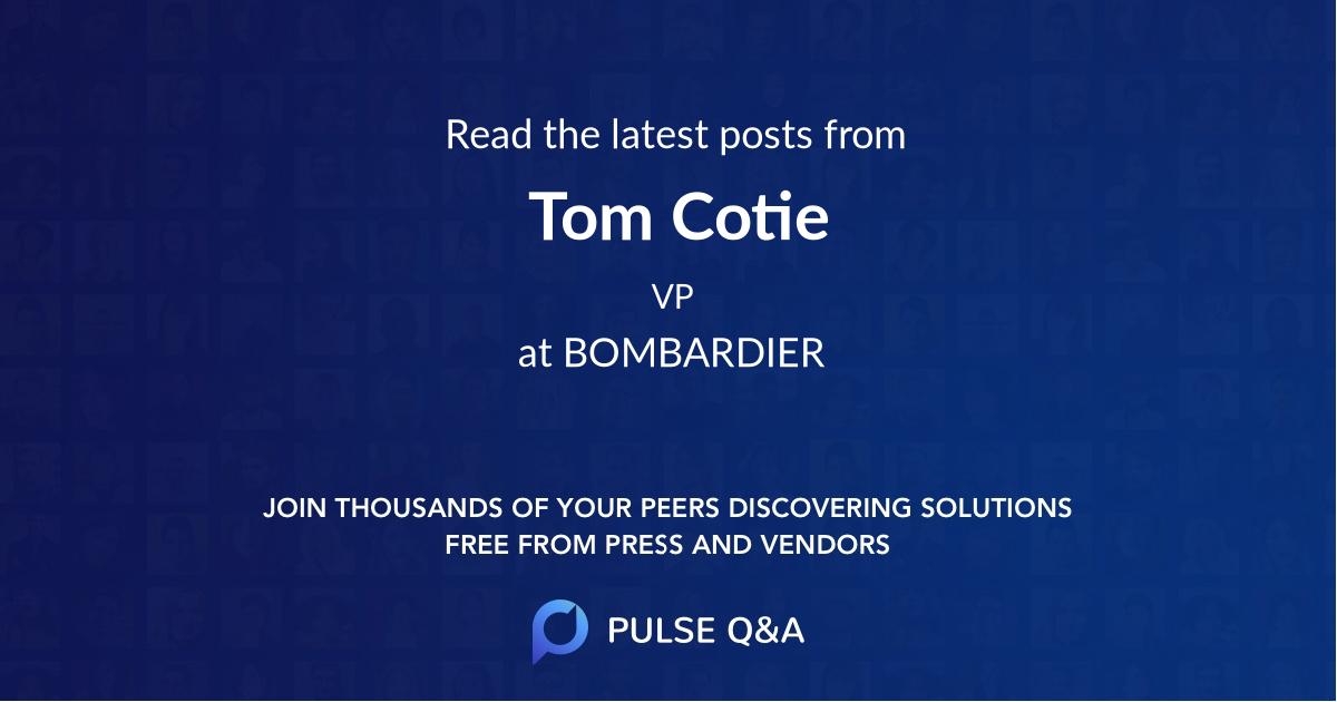 Tom Cotie