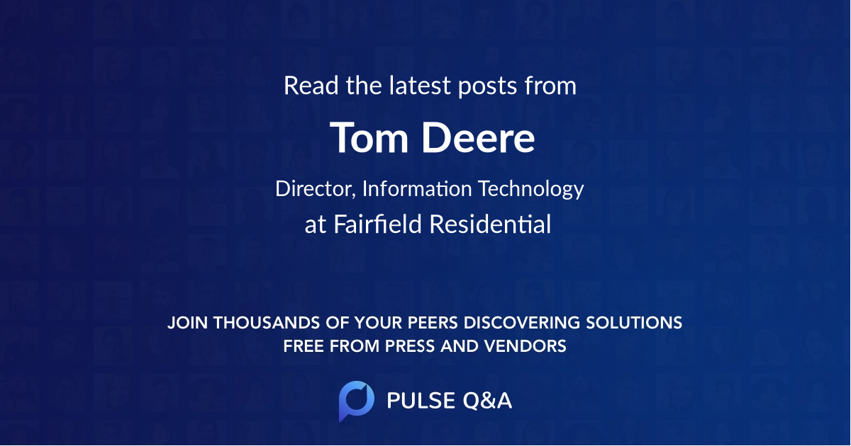 Tom Deere
