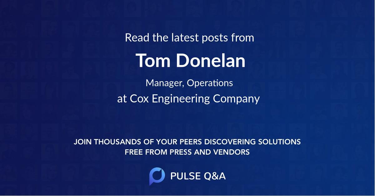 Tom Donelan