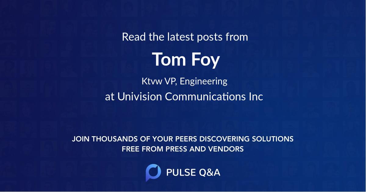 Tom Foy