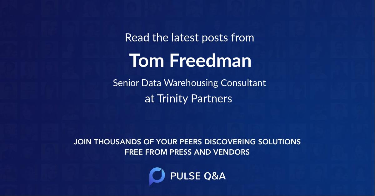 Tom Freedman