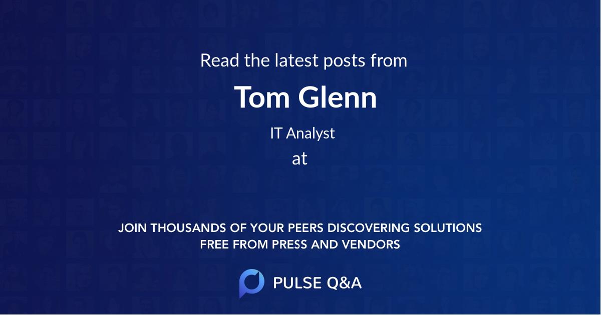 Tom Glenn