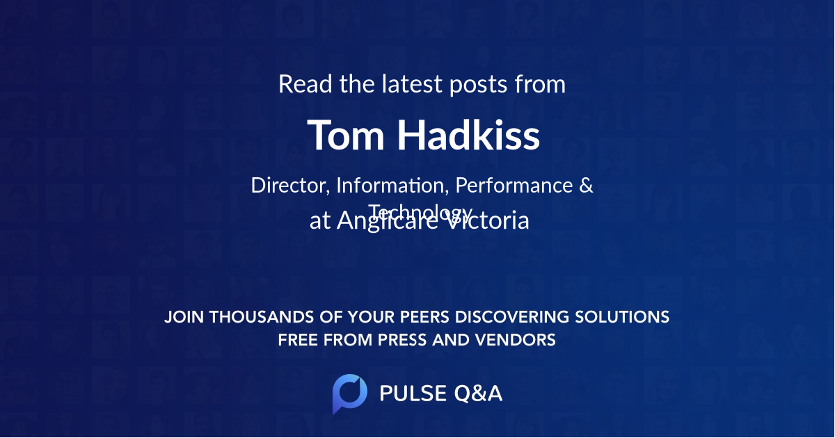 Tom Hadkiss