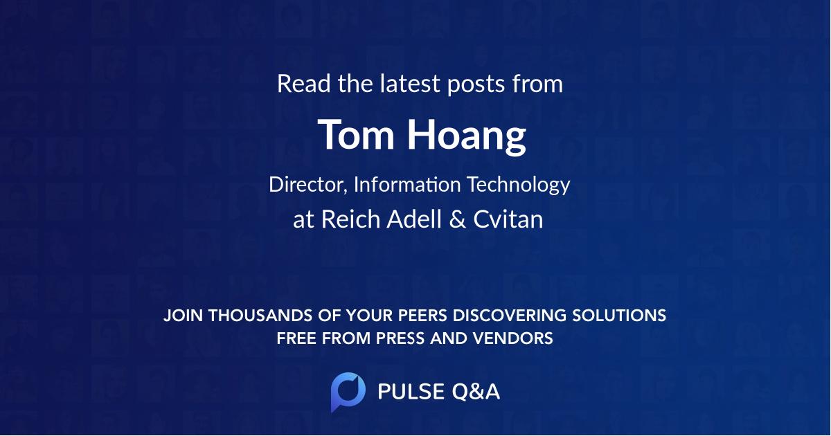 Tom Hoang
