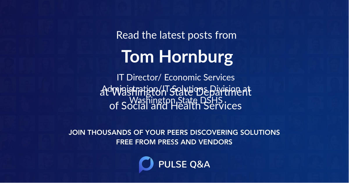Tom Hornburg