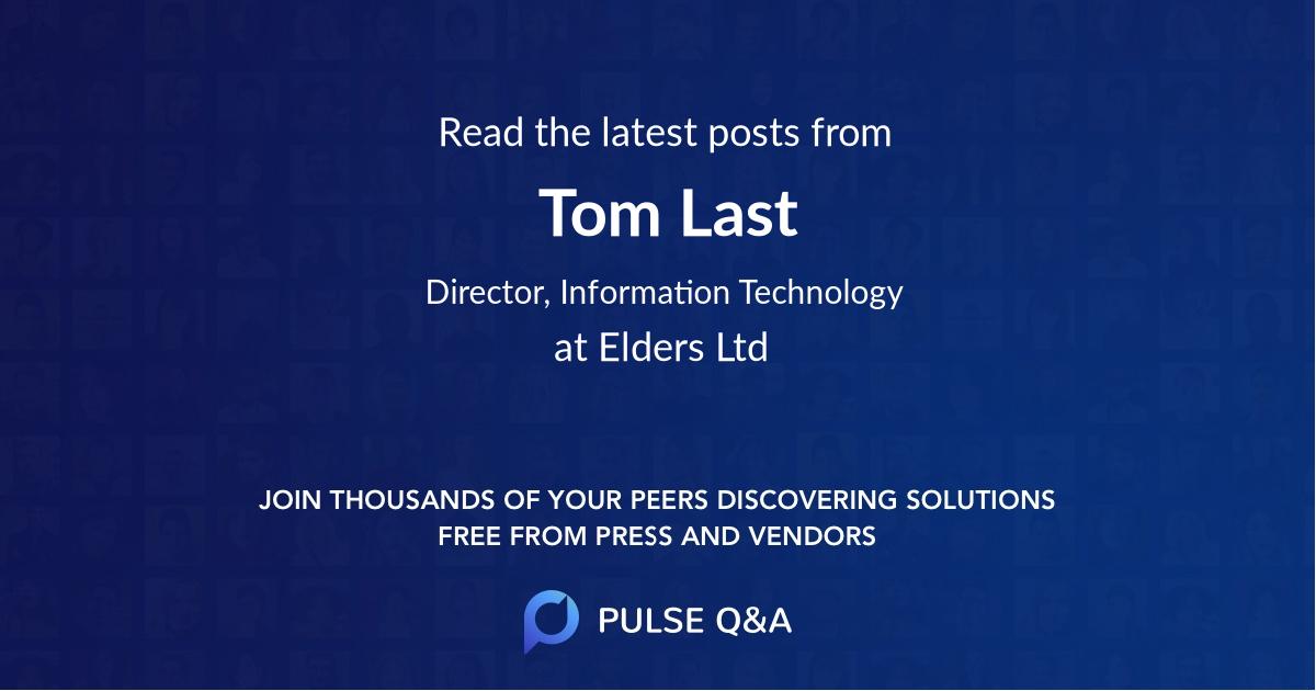 Tom Last
