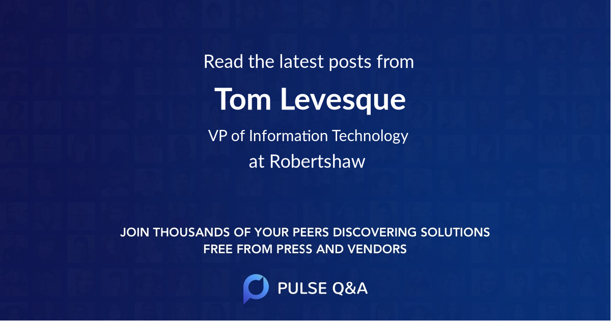 Tom Levesque