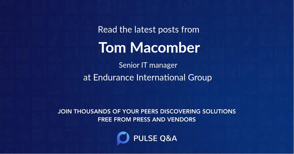 Tom Macomber