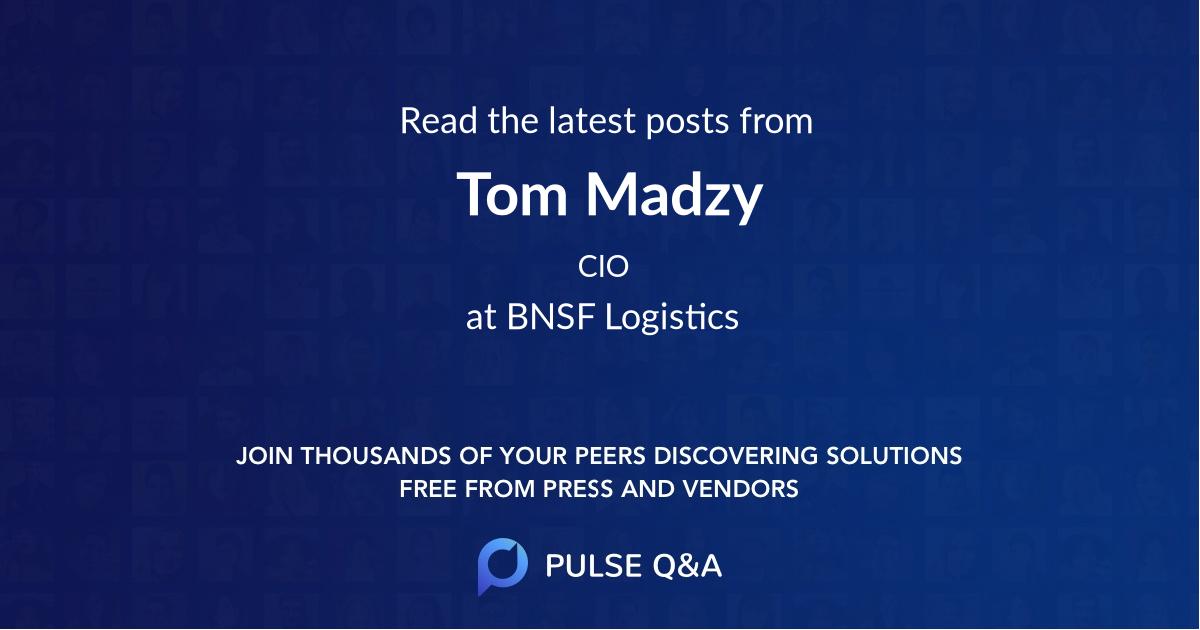Tom Madzy