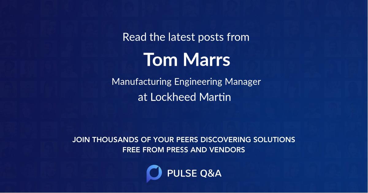 Tom Marrs