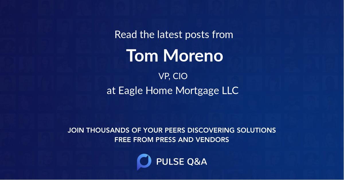 Tom Moreno