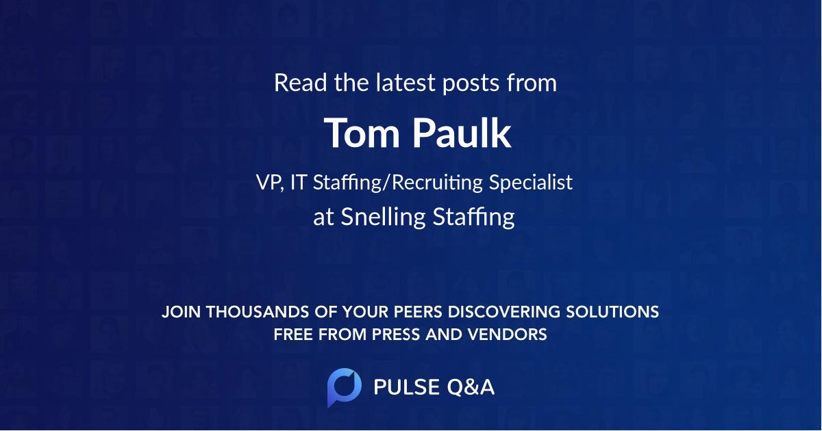 Tom Paulk