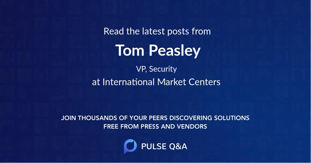 Tom Peasley