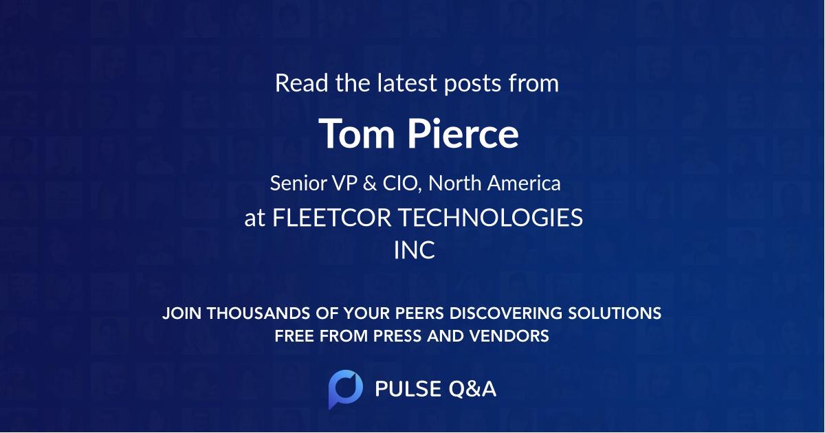 Tom Pierce