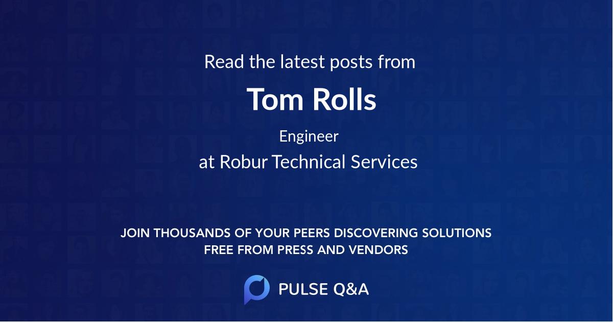 Tom Rolls