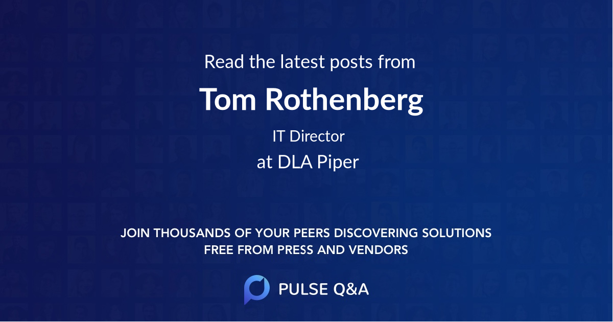 Tom Rothenberg