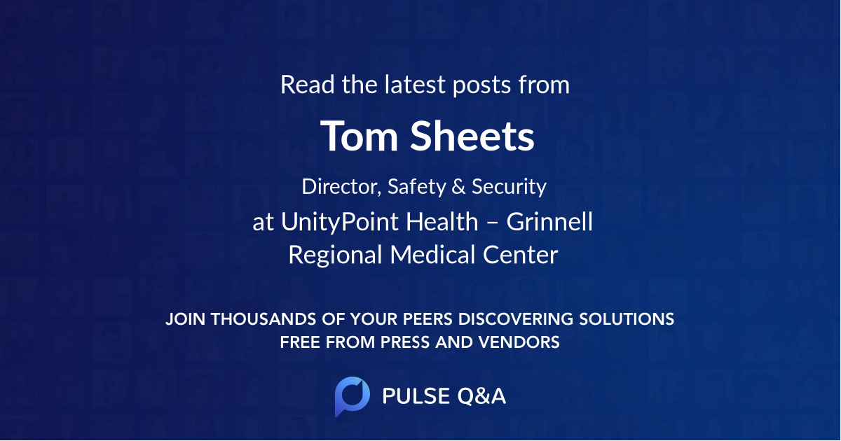 Tom Sheets