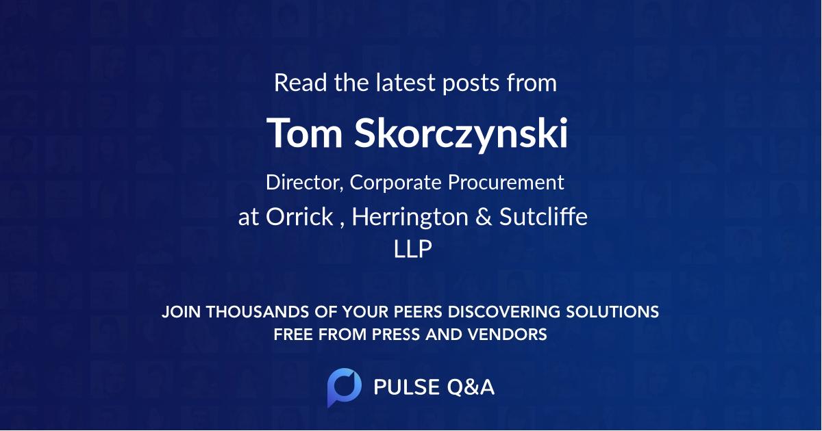 Tom Skorczynski