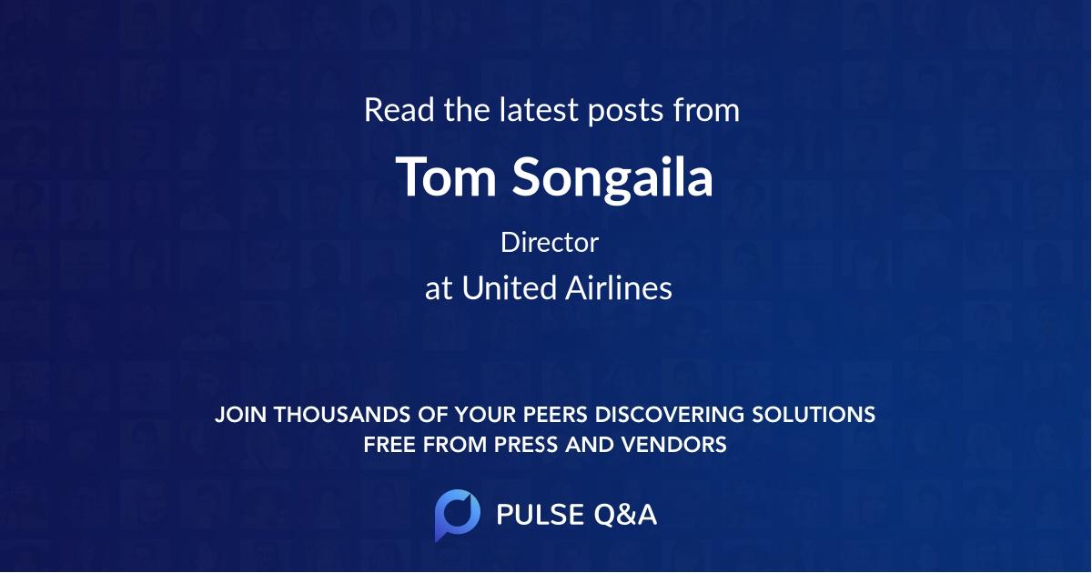 Tom Songaila