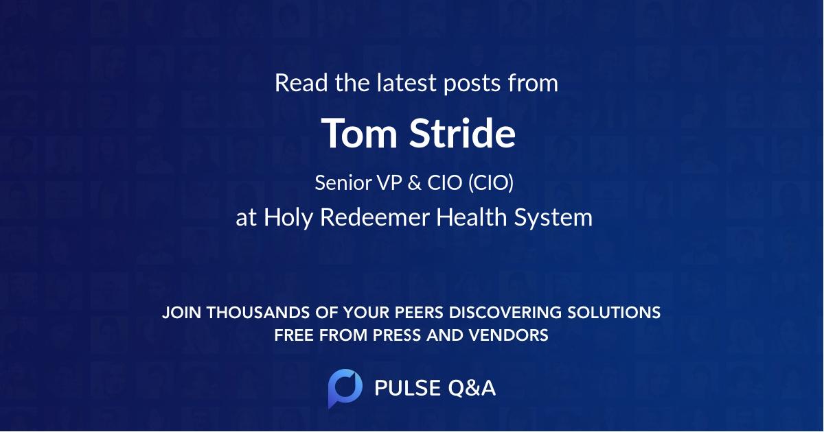 Tom Stride