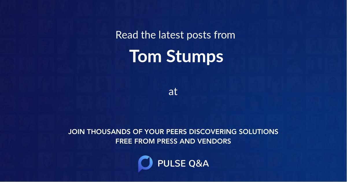 Tom Stumps