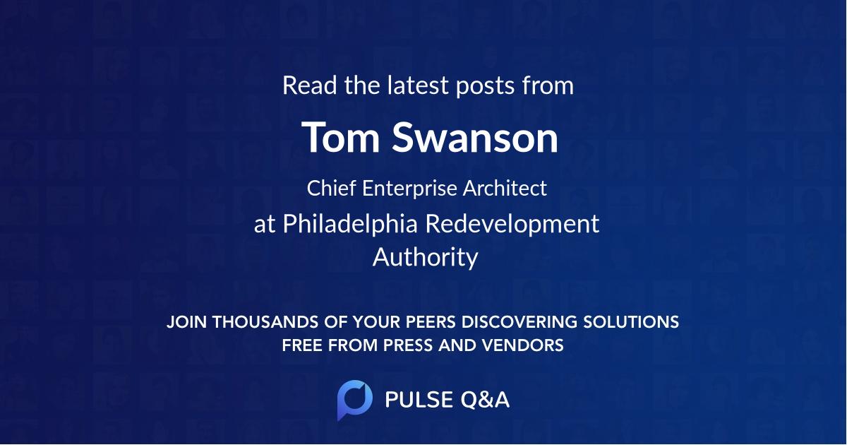 Tom Swanson