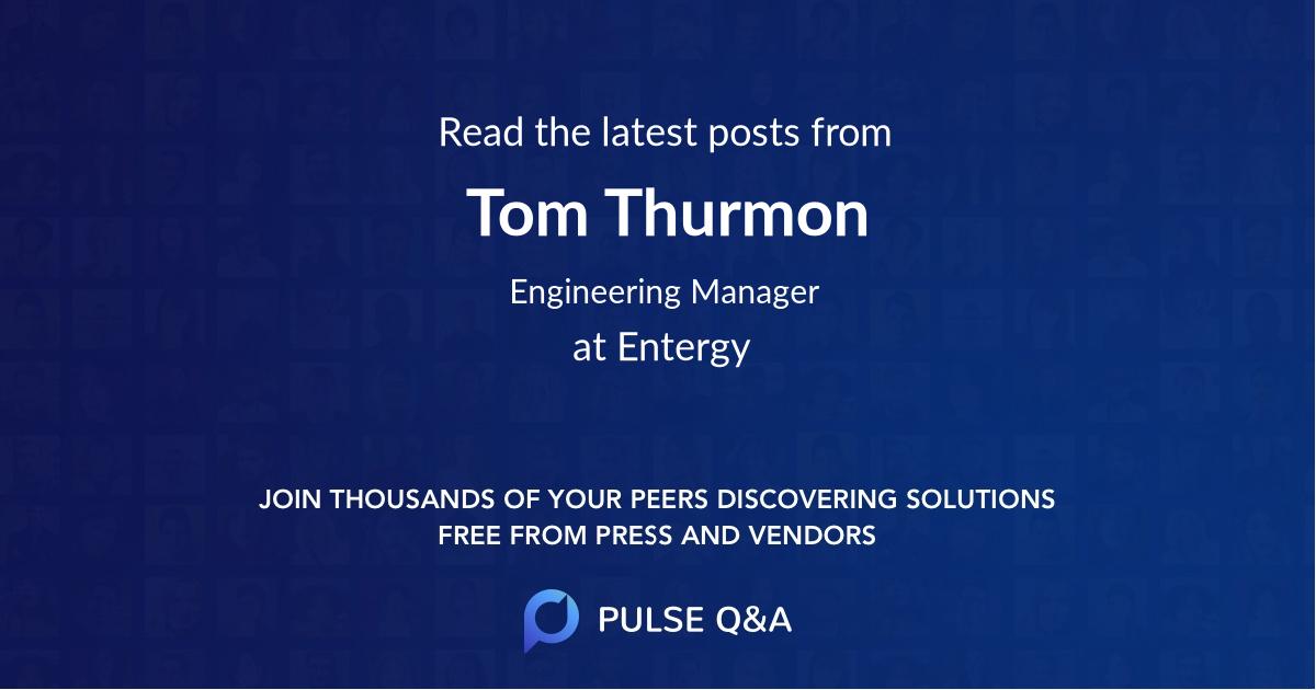 Tom Thurmon
