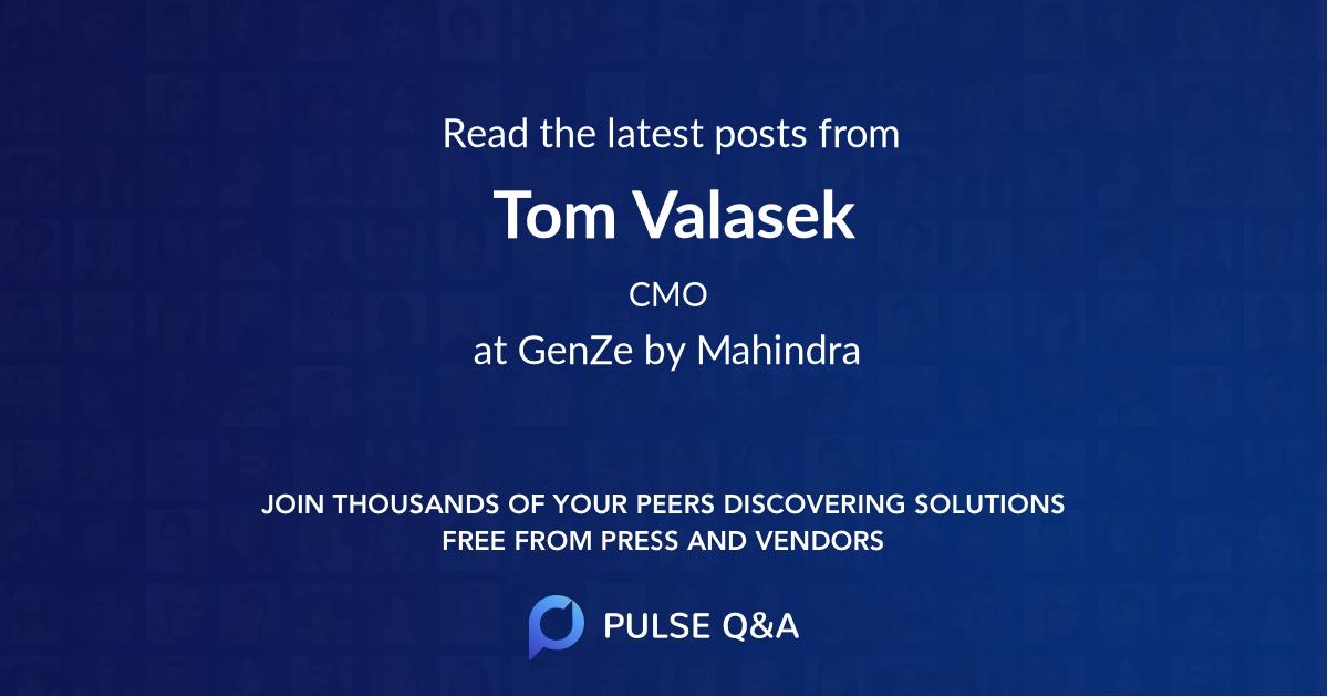 Tom Valasek