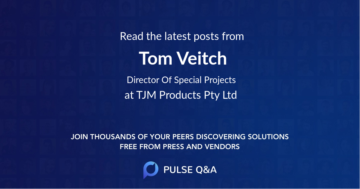 Tom Veitch