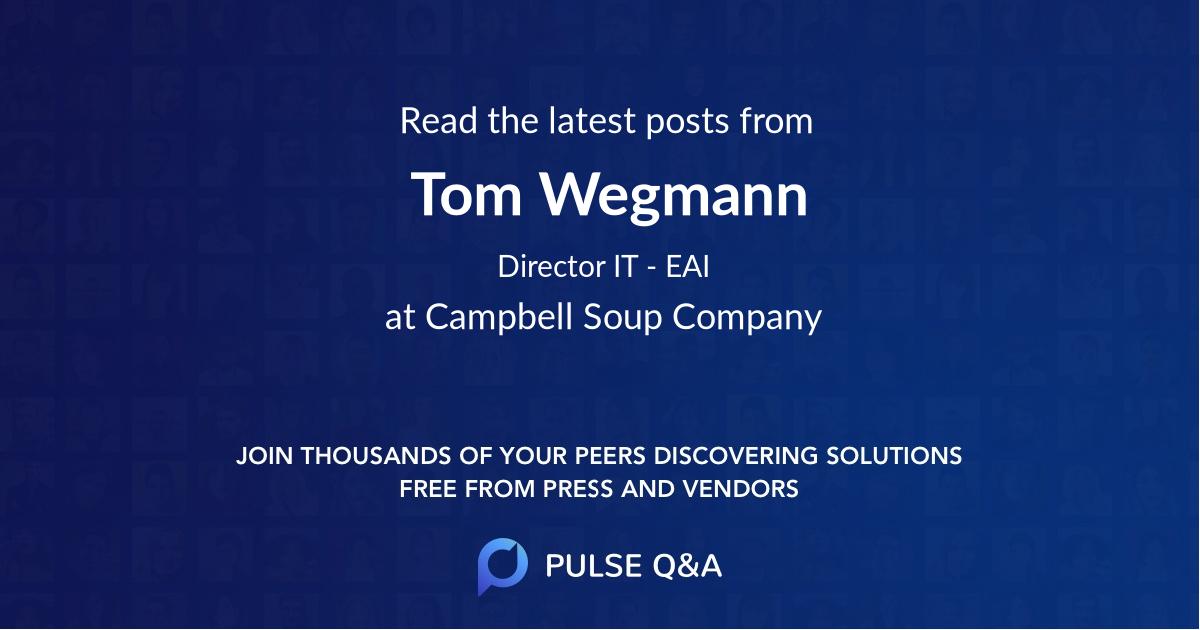 Tom Wegmann