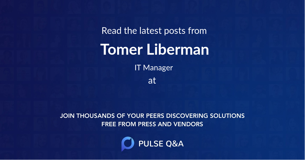 Tomer Liberman
