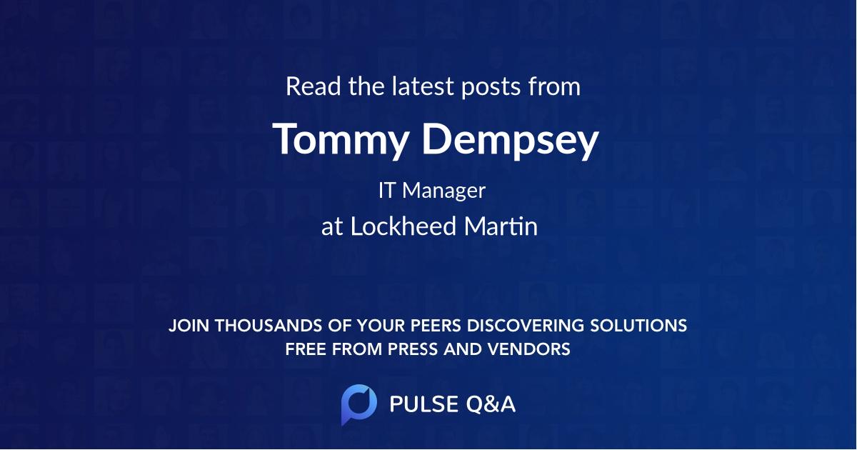 Tommy Dempsey