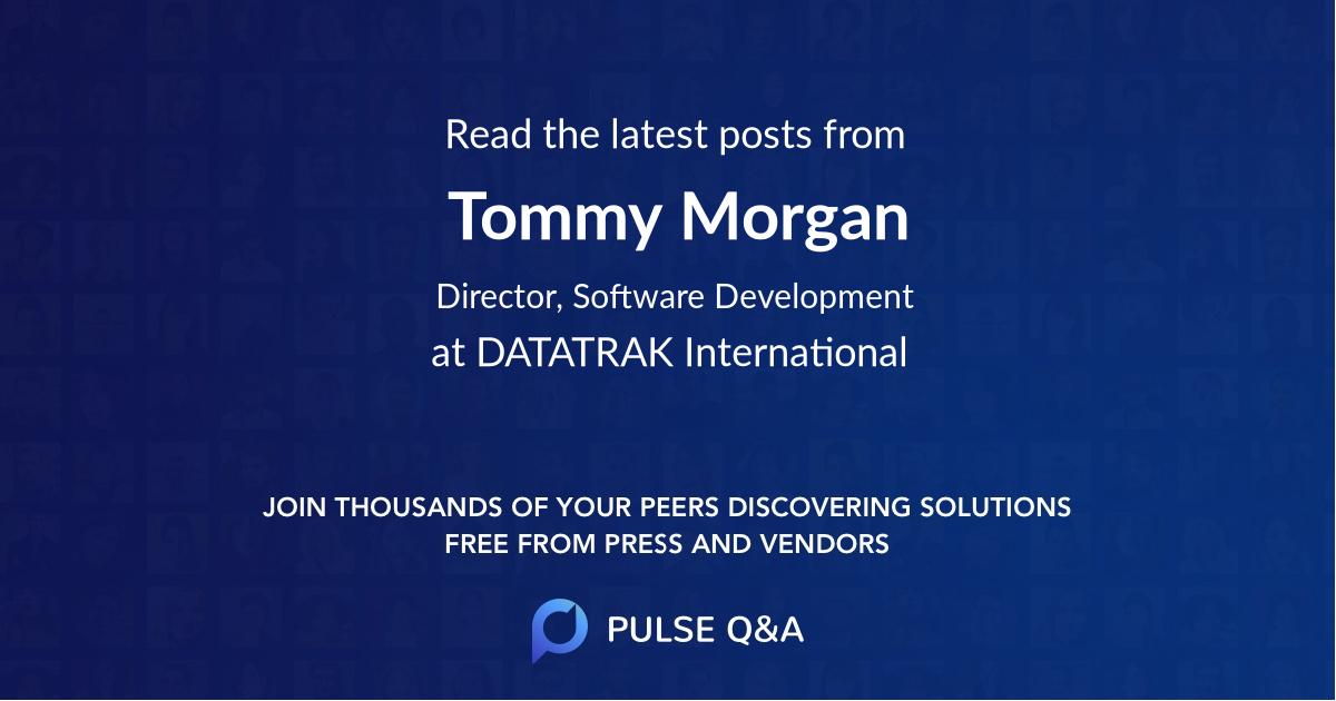 Tommy Morgan